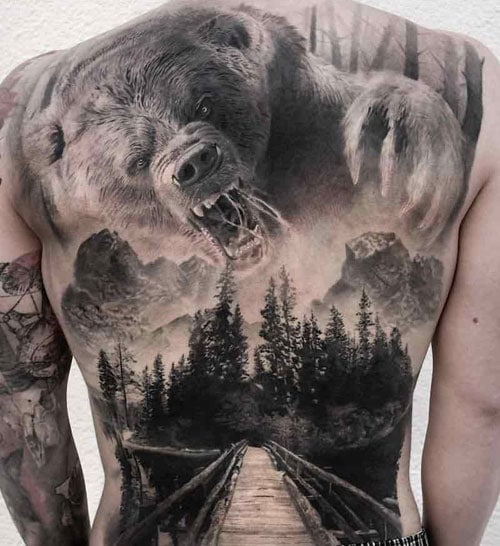 Big Back Tattoo