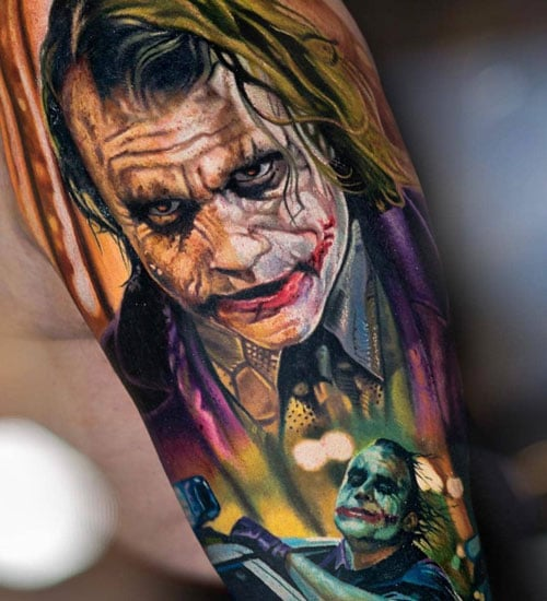 Cool 3D Half Sleeve Tattoo Designs For Men