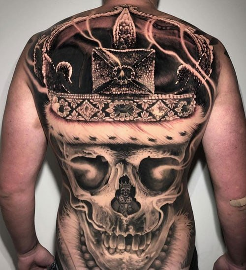 Cool Back Tattoo Ideas For Guys