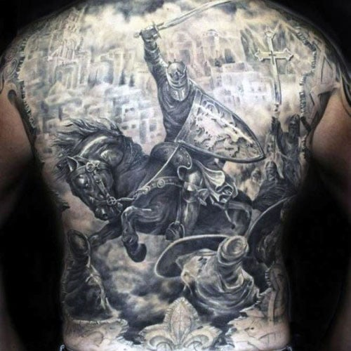 Cool Back Tattoo Ideas For Men