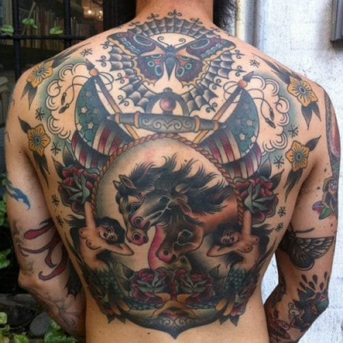 Cool Back Tattoo Ideas