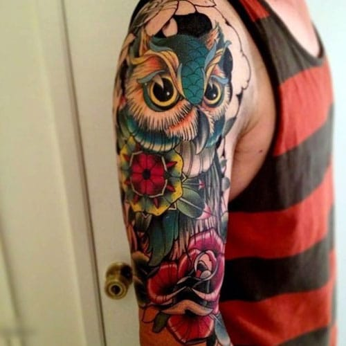 Cool Half Sleeve Tattoos