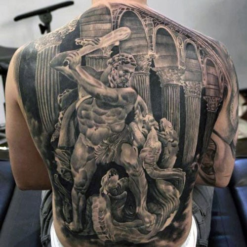 Cool Tattoos For Men on Back