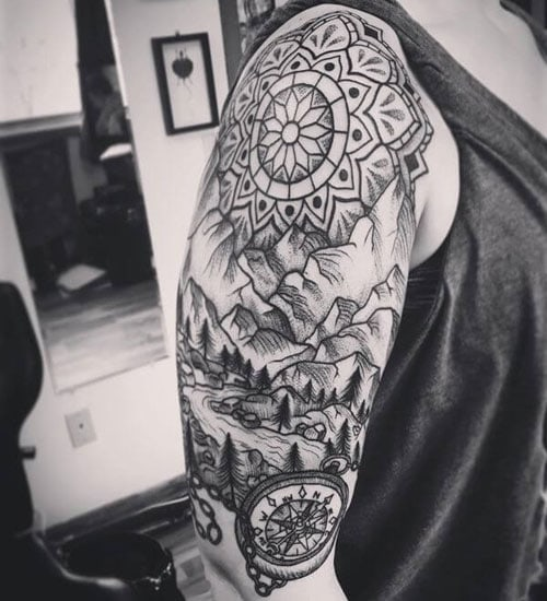 Cool Upper Arm Tattoo Ideas For Guys