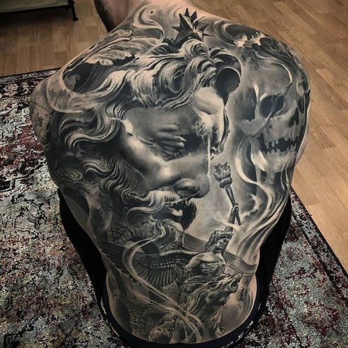 Full Back Tattoo Cover Ups