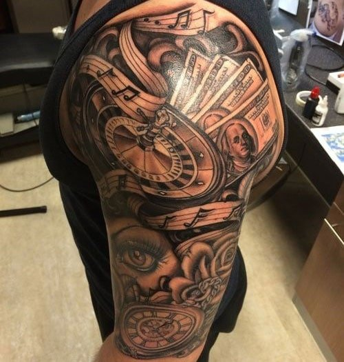 Half Sleeve Tattoo Ideas For Guys