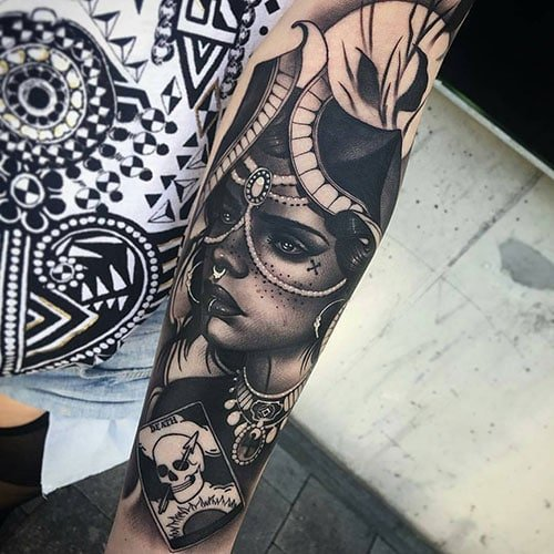 Half Sleeve Tattoos Forearm