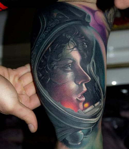 Inner Upper Arm Tattoos