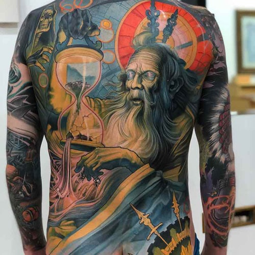 Japanese Back Tattoos