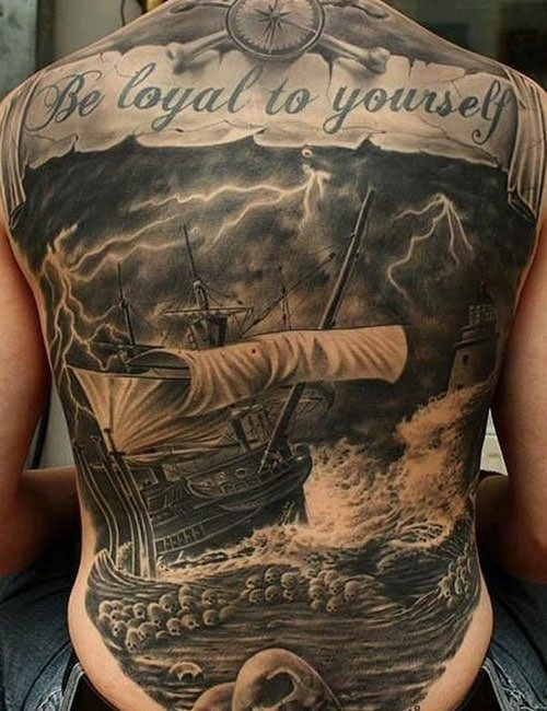 Meaningful Back Tattoos
