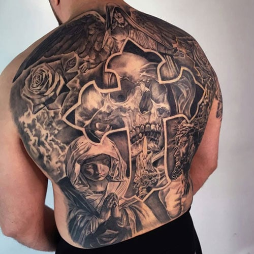Men's Tattoos On Your Back