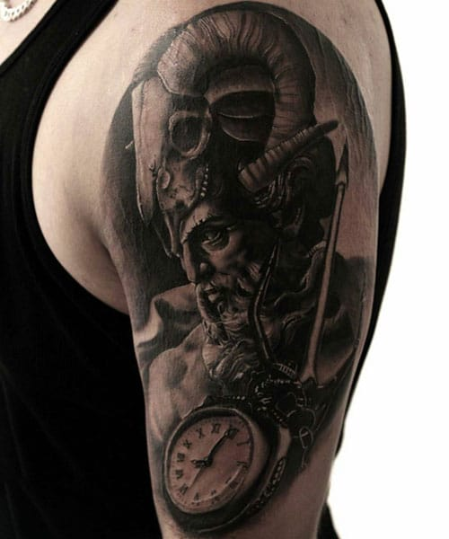 Short Half Sleeve Tattoos