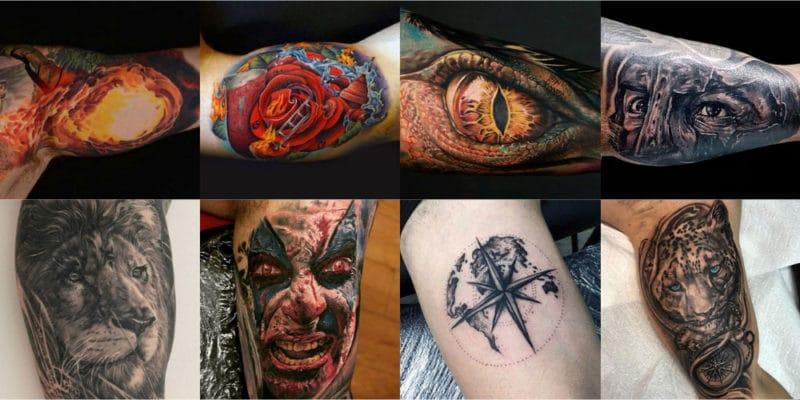 The Best Inner Bicep Tattoos For Men