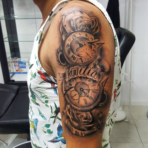 Unique Half Arm Sleeve Tattoo Designs For Men