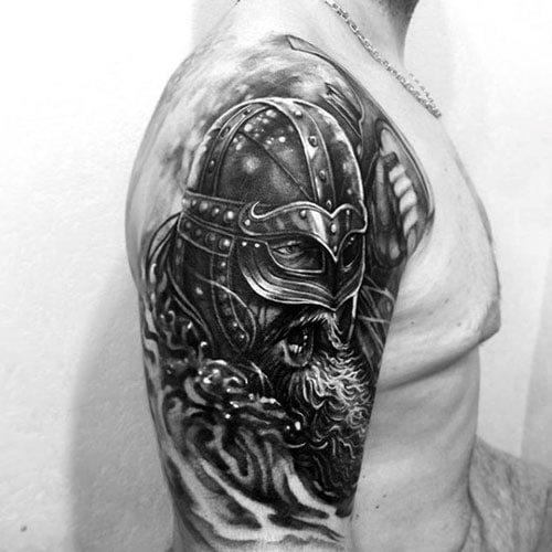 Viking Warrior Half Sleeve