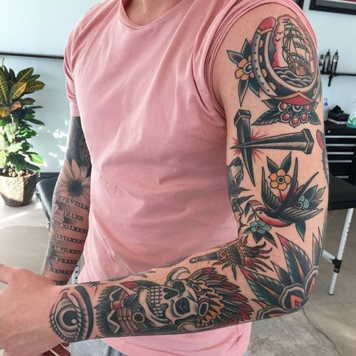 Awesome Full Sleeve Tattoo Ideas