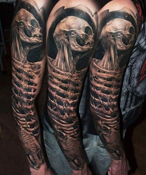 Printable Tattoo Stencils Tattoo Sleeve: 125 Best Sleeve Tattoos For Men: Cool Ideas + Designs