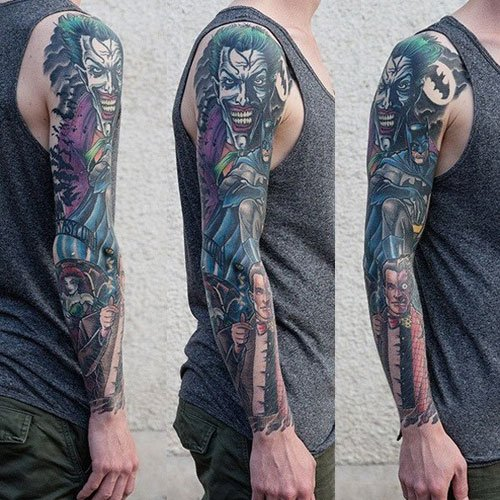 Badass Full Sleeve Tattoo