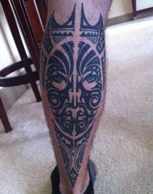 Best Back of Leg Tattoo Ideas