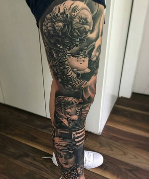 Best Full Leg Tattoo Designs For Men