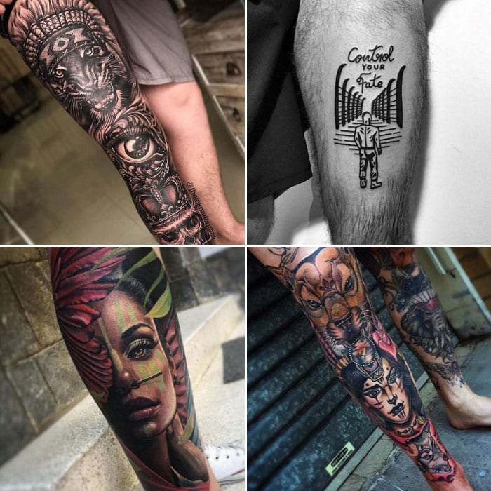 Best Leg Tattoo Designs