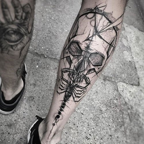 Best Simple Leg Tattoo Designs