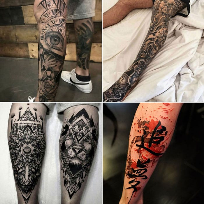 125 Best Leg Tattoos For Men Cool Ideas Designs 2019 Guide