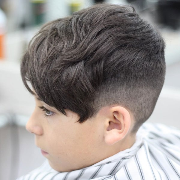 Cool Boys Taper Fade Haircut