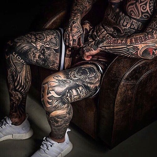 Cool Tattooed Legs