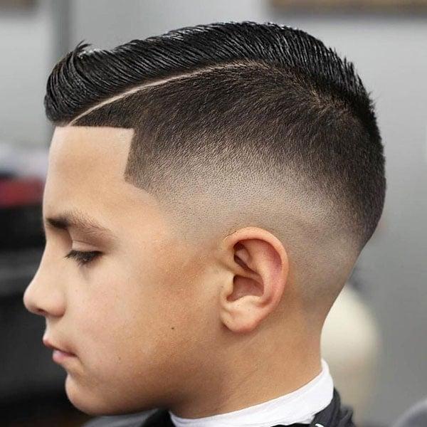 Bald Fade Haircut Kids 23