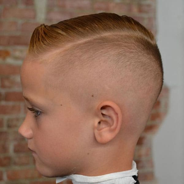 Kids Undercut Fade Haircut