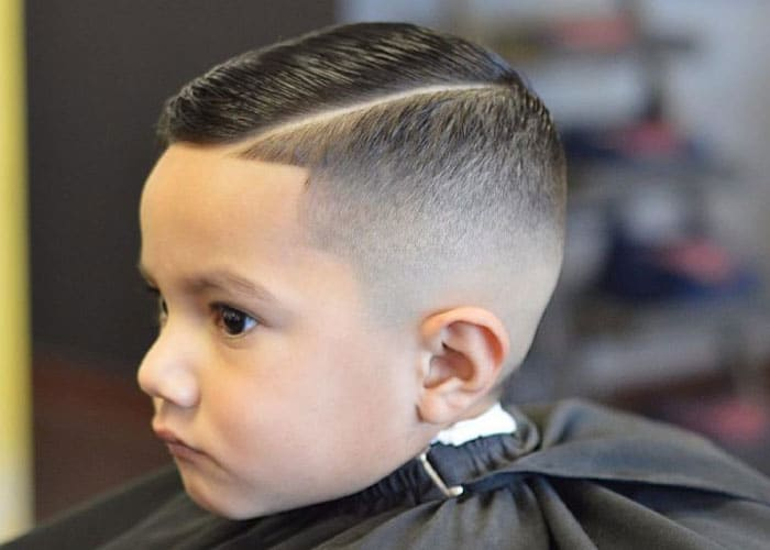 Little Boy Fade Haircut