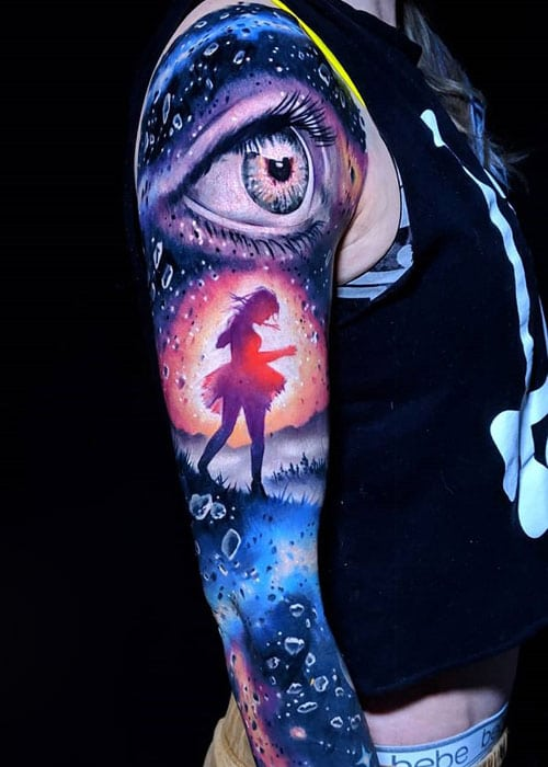 Meaningful Sleeve Tattoo Designs For Guys