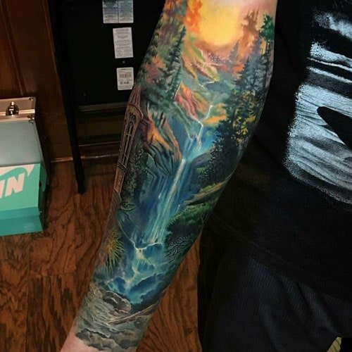 Nature Sleeve Tattoo