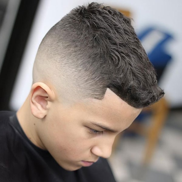 Short Hair Fade Haircut