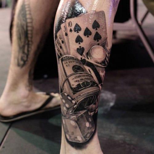 Side of Leg Tattoo Ideas