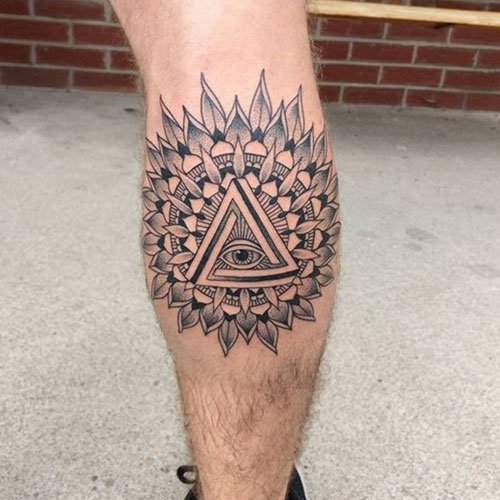 Small Calf Tattoo Designs
