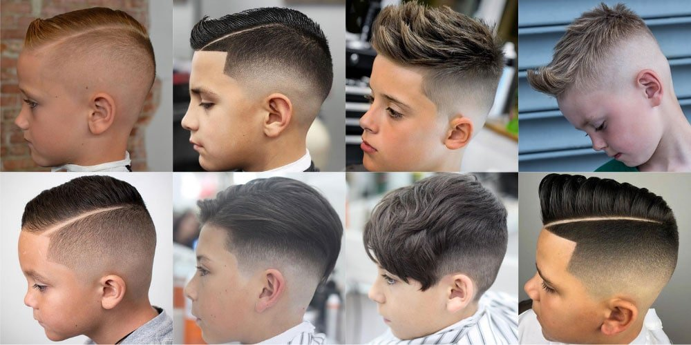 The Best Boys Fade Haircuts 39 Cool Kids Taper Fade Cuts