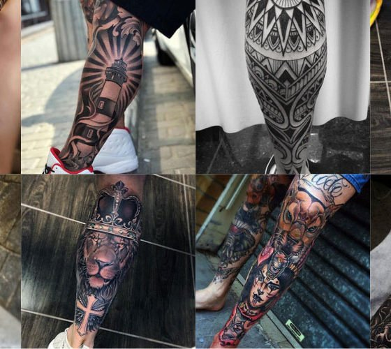 The Best Leg Tattoos For Men