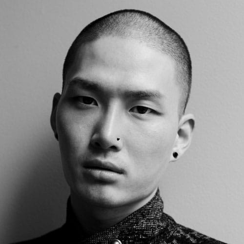 Asian Buzz Cut