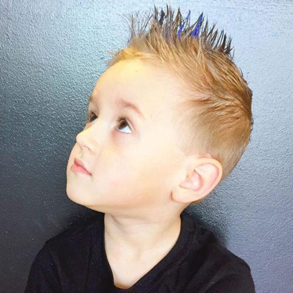 Boys Faux Hawk Haircut
