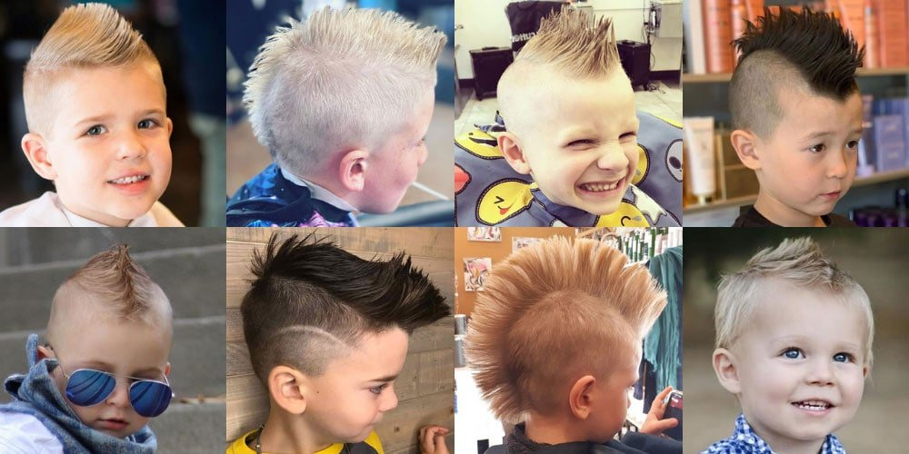 Cool Kids Mohawk Hairstyles