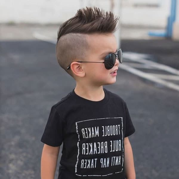 Cool Little Boys Mohawk
