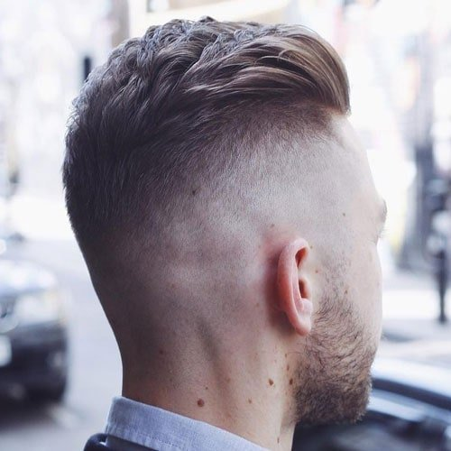High Taper Fade Haircut