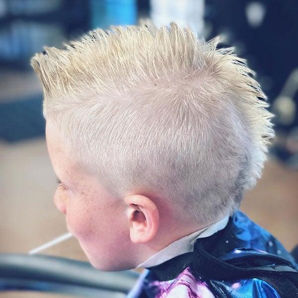 Kids Mohawk Haircut