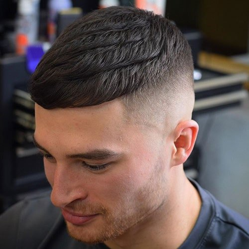 Men's High Fade Haircut