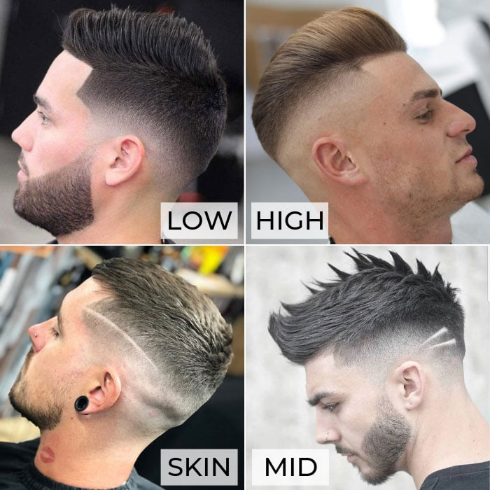 Types of Fades