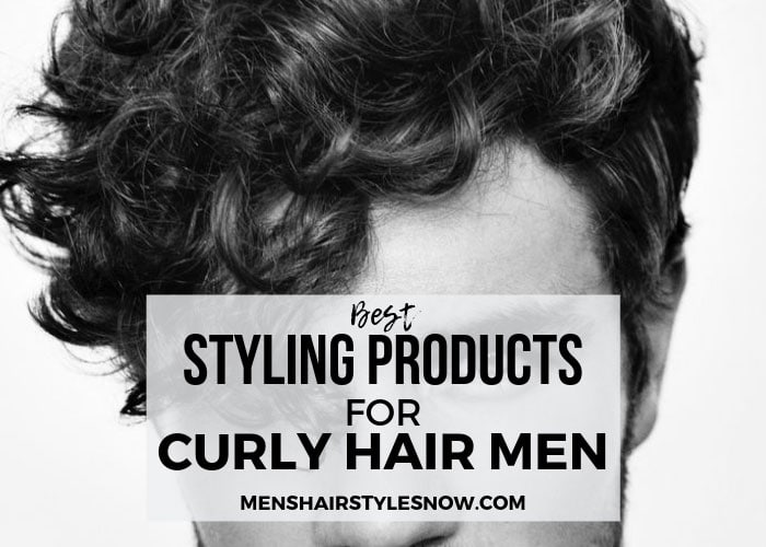 Best Styling Products For Men's Curly Hair