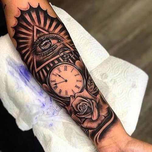 Awesome Forearm Tattoo Designs For Men