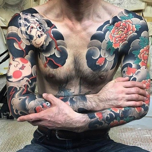 Awesome Traditional Japanese Tattoo Designs